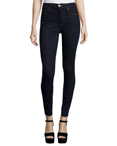 Halle High-Rise Super-Skinny Jeans, Closing Night