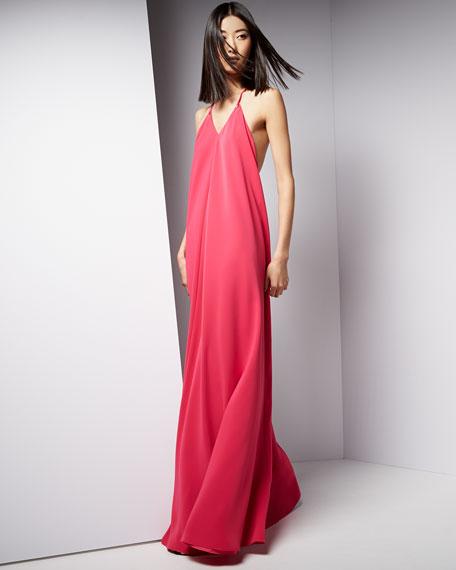 Jill Jill Stuart Halter Sleeveless Slip Gown