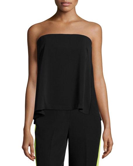 Black Strapless Shirt