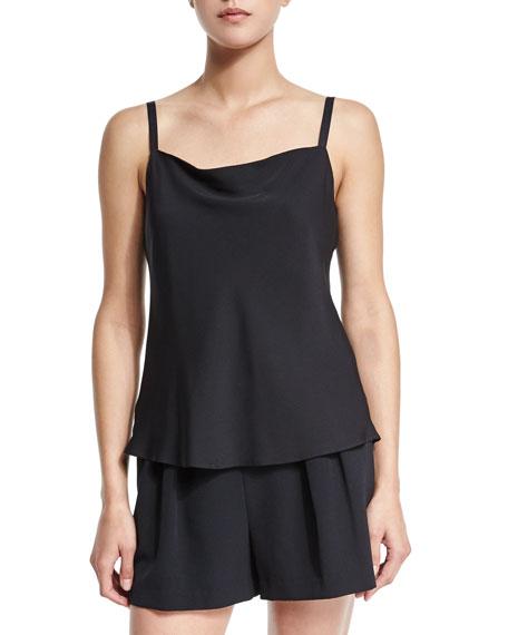 Milly Stretch Silk Bias Camisole