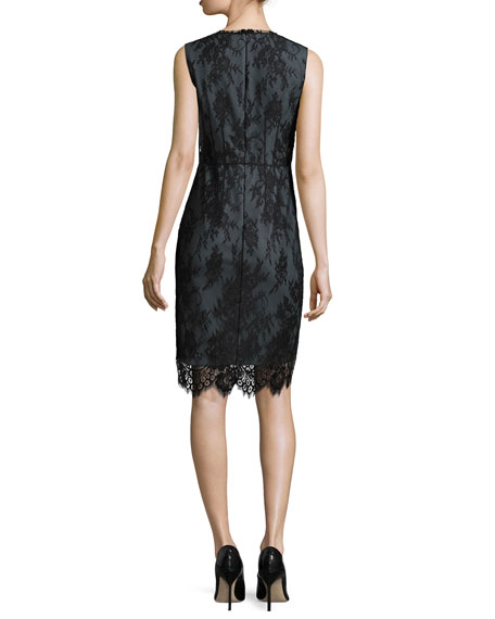 Ashley Chantilly Lace Sheath Dress