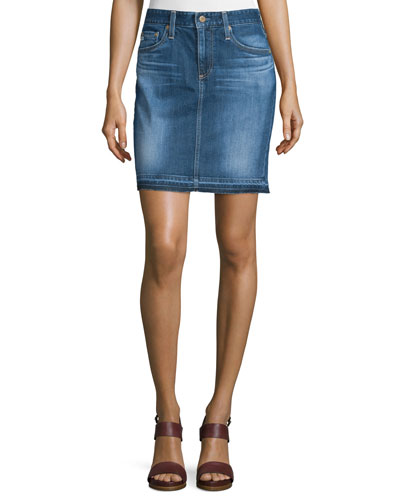 The Erin Denim Skirt, 14 Years Muir