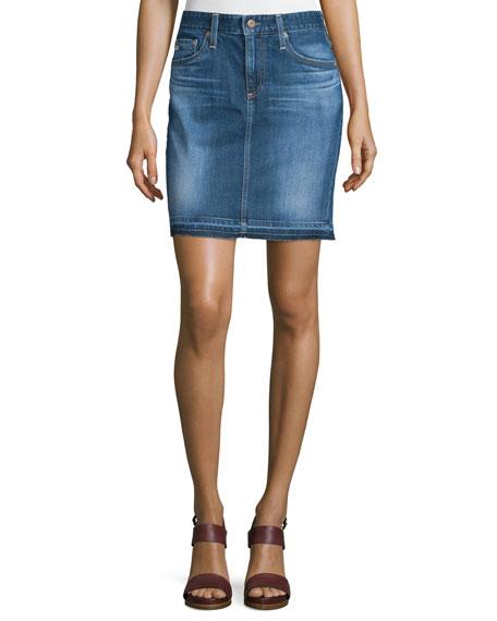 AG The Erin Denim Skirt, 14 Years Muir
