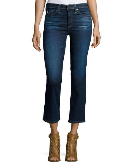 AG The Jodi Crop Flare-Leg Jeans, 2 Years Beginning