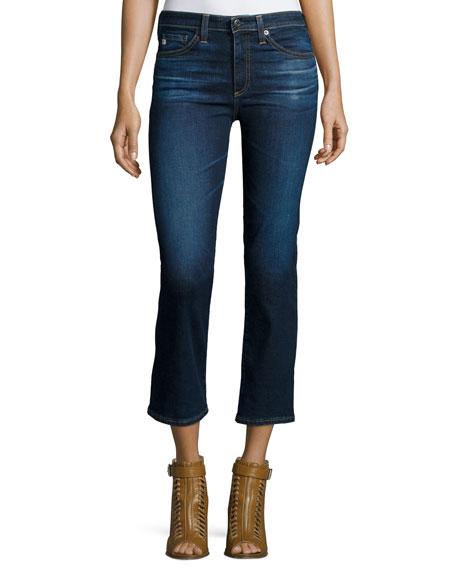 AG The Jodi Crop Flare-Leg Jeans, 2 Years Beginning
