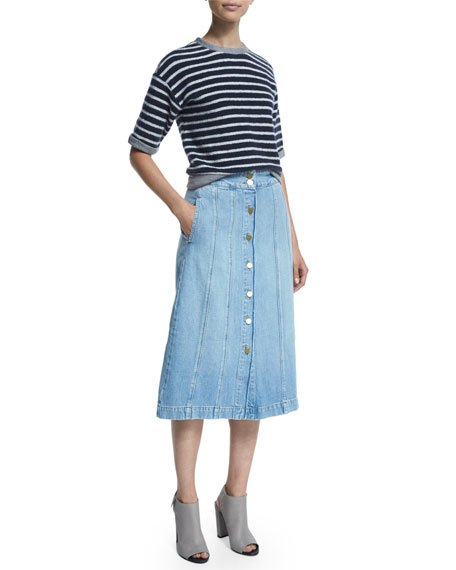 Le Panel Denim Skirt, Belfast
