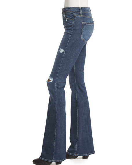 Bell Canyon High-Waist Jeans, Silas Destructed