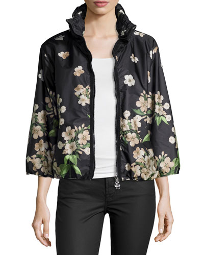 Coryphene Floral-Print Jacket