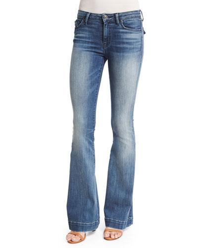 Ferris Flare-Leg Jeans, Mission Control