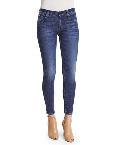 Lilly Skinny Ankle Jeans, Battalion