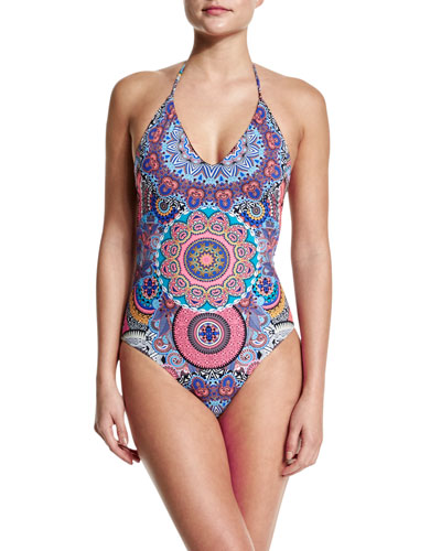 Montezuma Mio Halter One-Piece Swimsuit