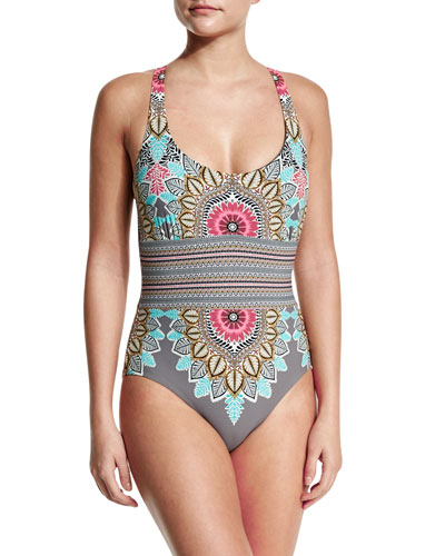 Renaissance Printed One-Piece Swimsuit