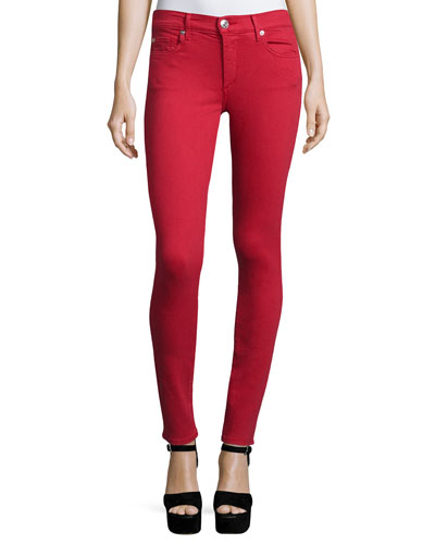 Halle Super-Skinny Jeans, Chili Pepper