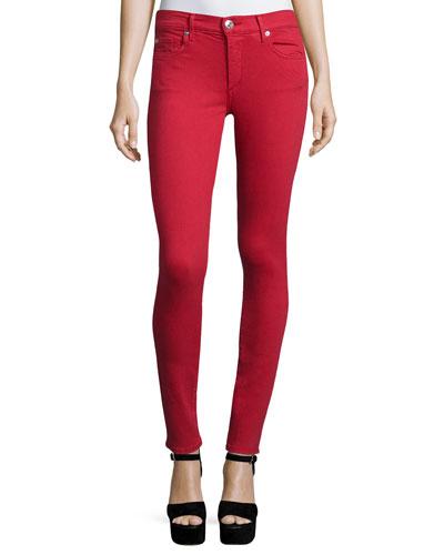 Halle Super-Skinny Jeans, Chili Pepper