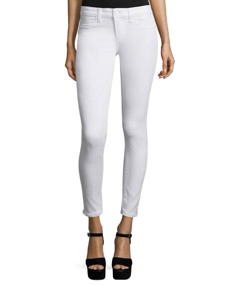 Paige DenimVerdugo Ultra Skinny Ankle Jeans, White Mist