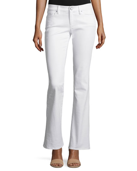 Lilly PulitzerWorth Flare Boot-Cut Jeans, Resort White