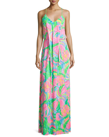 Lilly Pulitzer Rosa Sleeveless Printed Maxi Dress