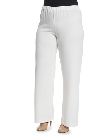 Marina Rinaldi Wide-Leg Pants, Plus Size