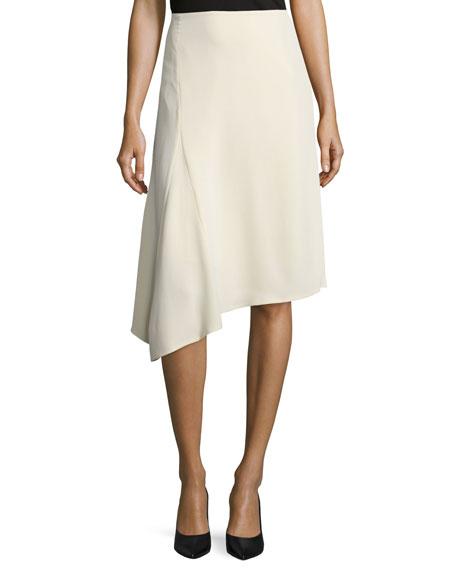 Lafayette 148 New York Chantee A-Line Skirt, Cornsilk