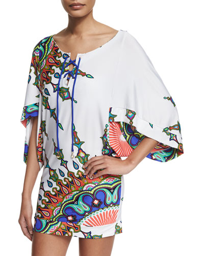 Kasbah Printed Tunic Coverup