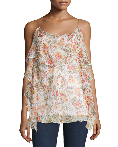 Bailey 44 Talk To Me Floral-Print Top, Floral