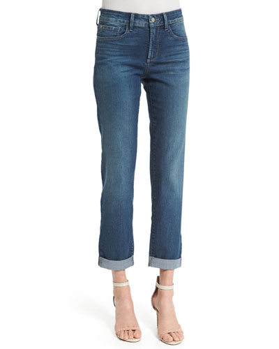 Sylvia Relaxed Boyfriend Jeans
