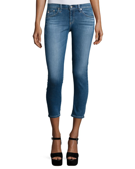 AG The Stilt Cropped Jeans, 13 Years Solitude