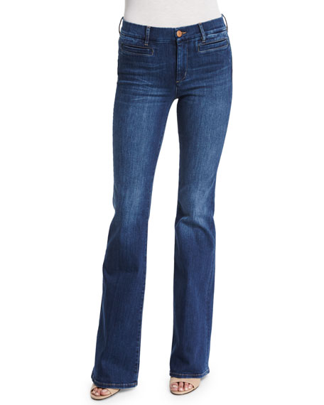 MiH Marrakech Flare-Leg Jeans, Clarice