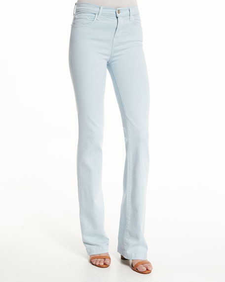 J Brand Jeans Dasha High-Rise Flare-Leg Jeans, Winter