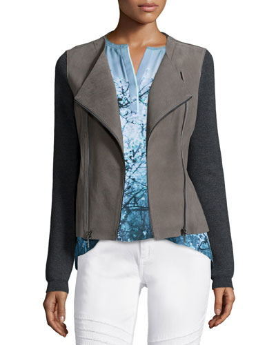 Joplin Leather & Wool Jacket