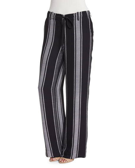 Joie Esty Striped Silk Pants