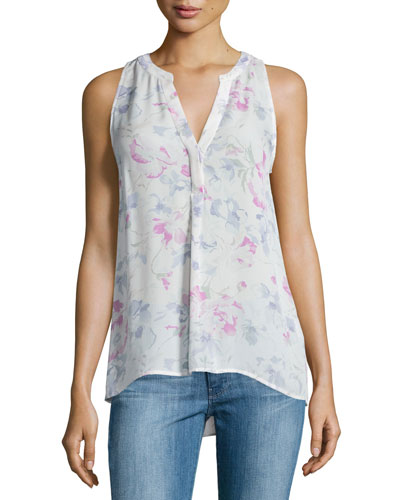 Joie Aruna Printed Sleeveless Top