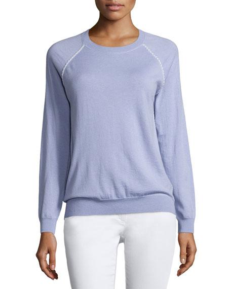 Joie Corey Crewneck Sweater, Lilac