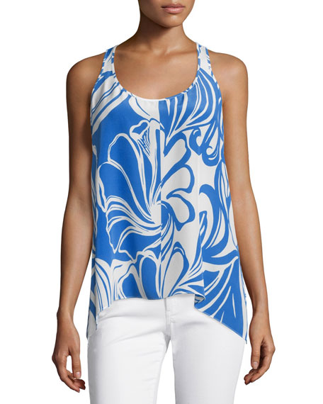 Lilly Pulitzer Malie Sleeveless Printed Racerback Tank