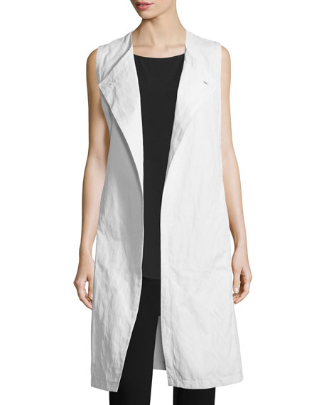 Eileen Fisher Fisher Project Textured Long Vest