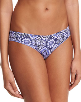 Lavender Timbers Reversible Hipster Swim Bottoms, Multi Colors