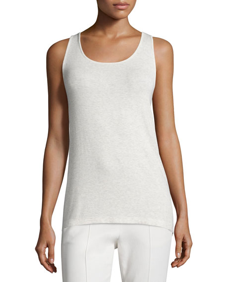 Vince Luxe Ribbed Sleeveless Tank