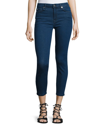 Kimmie Cropped Skinny Jeans, Slim Illusion Lux