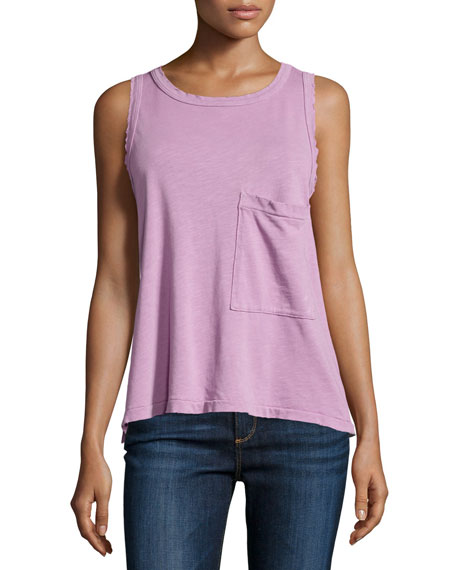 Current/Elliott The Pocket Muscle Tee, Orchid