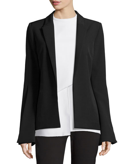 Nicholas Paris Tailoring Flared-Sleeve Jacket, Black