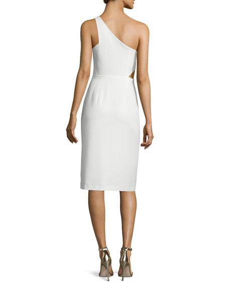 One-Shoulder Asymmetric Dress
