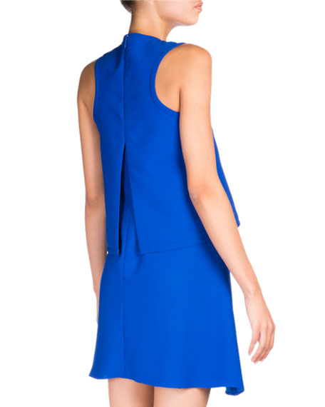 flared dress - Blue Carven R6rSLtIjgD