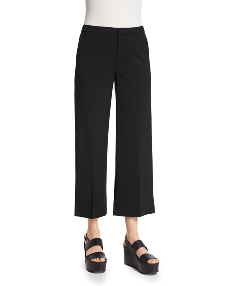 Vince Tailored Cropped Culottes