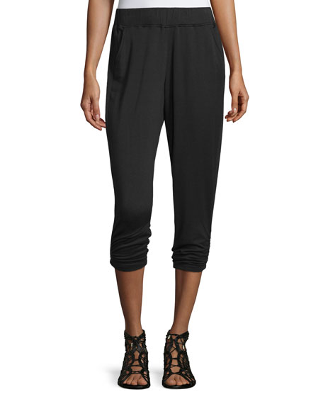 NYDJ City Slimming Lounge Pants, Black