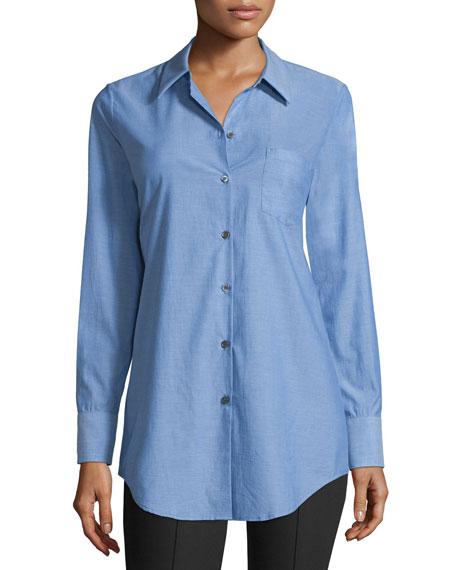 TheoryRobertson Icon Button-Down Shirt