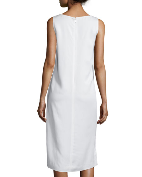 Lola Sleeveless Fil Coupe Dress