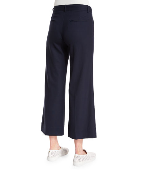 Theory Livdale Contour Wide-Leg Pants