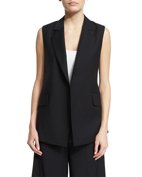 Theory Sedeia Continuous Wool-Blend Vest