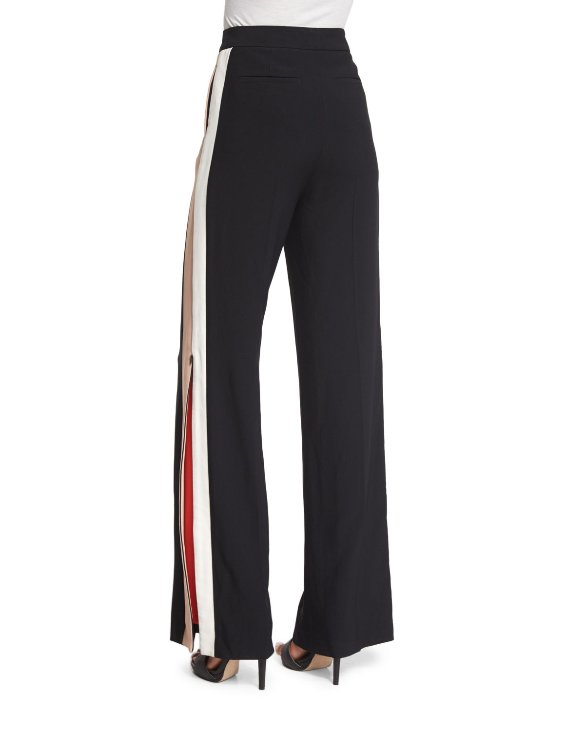 MSGM side logo stripe trousers Buy Cheap Clearance Outlet Locations Online Store Sale Online Discount Fake zmxMjV