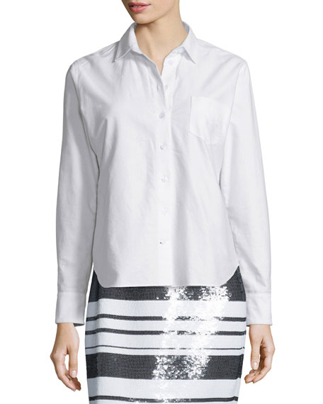 kate spade new york smart oxford shirt